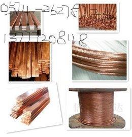 接地线镀铜圆钢、扁钢、接地棒