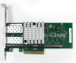LREC9802BF-2SFP+/万兆SFP+双口服务器光纤网卡