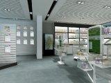 设计制做汽车用品 模拟太空舱展厅 量体定制各类产品木质烤漆展示柜 免漆柜台 中岛柜 设计各类产品展会展厅