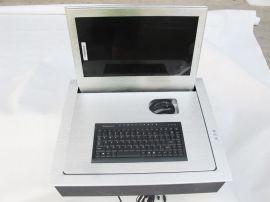 晶固液晶屏翻转器,会议盒式电脑翻转器,电脑配套一体式翻转机