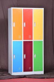 颜色HDG-C06六彩更衣柜 彩色更衣柜