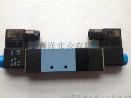 气动元件电磁阀4V230-06/08-220V/24V气缸配件控制阀气阀**阀门