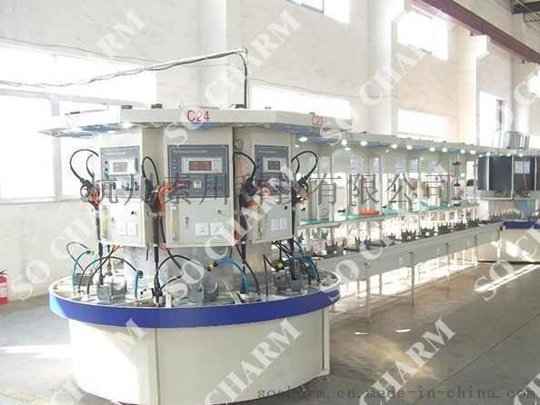 清洗机检测线 水泵测试线 组装检测线 台车环型