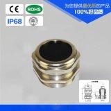 M10*1金属防水接头 黄铜镀镍电缆固定头 LED灯具专用锁头