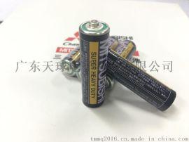 三菱R6P 5号碳性干电池 英日双语电池 环保电池