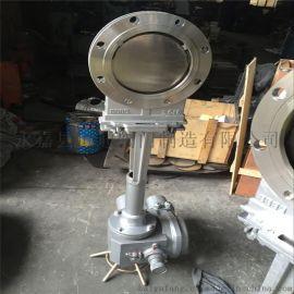 耐高温电动刀型闸阀2520不锈钢电动闸阀