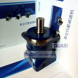激光切割机专用高精密减速机,AF60斜齿轮行星减速机,速比5,卧式步进电机减速机