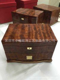 珠宝盒 首饰木盒 油漆木盒 油漆首饰盒