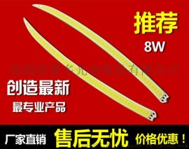 供应白转黄双色汽车日行灯COB光源造型美观大方经济实用质保两年