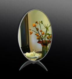 化妆镜 亚克力镜子 亚克力台式化妆镜 有机玻璃镜子 亚克力制品