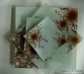 创意新款玻璃制品,钢化玻璃盘,玻璃菜板,玻璃转盘