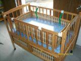 竹制婴儿床