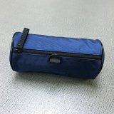 厂家定制圆形拉链笔袋创意学生文具盒 纯色铅笔袋收纳包化妆包袋