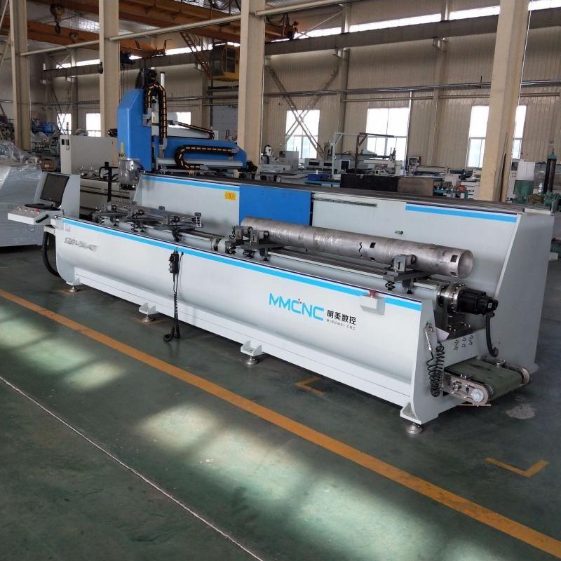 工业铝型材数控加工设备铝型材四轴数控加工中心