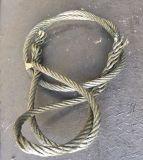 插編鋼絲繩索具 手工插編吊索 鋼絲繩索扣 起重吊索14mm*4m