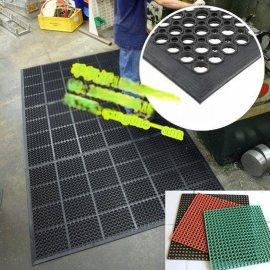 青岛浴室防滑垫厂家,青岛季经理带孔防滑安全地垫