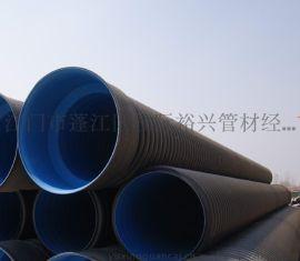Φ1000 HDPE双壁波纹管