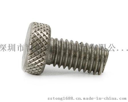 非标定制杯头滚花机械螺丝,深圳市非标螺丝定制厂家