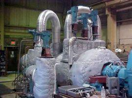 蒸汽管道柔性保温套 可拆卸保温套 耐热保温管套