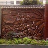 消防雕塑 墙体挂饰玻璃钢消防人物浮雕