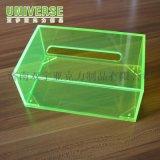 亚克力卷纸器 抽纸盒 透明抽纸盒有玻璃定制厂家