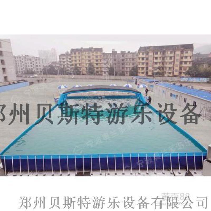 湖南兒童支架水池游泳池全套一起下來