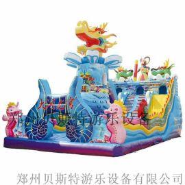 湖南儿童广场儿童充气滑梯新款厂家推荐