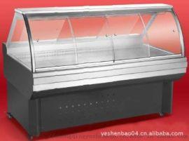 卧式展示柜熟食冷藏柜\超市熟食冰柜\凉拌菜冷柜鸭