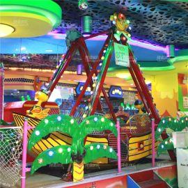 儿童游乐设备迷你海盗船_亲子互动游乐设备生产厂家