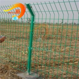 双边丝防护网浸塑双边隔离网铁路防护围栏网可定做