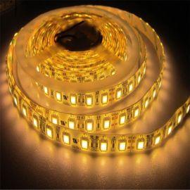 5050软灯条24v一米60灯暖白套管灌胶防水