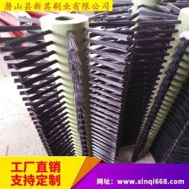 耐磨毛刷辊 清洗机尼龙毛刷辊 抛光刷辊 工业毛刷 非标制作