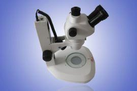 供应立体高倍显微镜 8-50倍变倍 上下LED光源 超大景深 体式显微