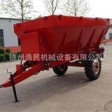有机肥撒粪车 拖拉机带动5吨农家粪抛粪机 撒肥车