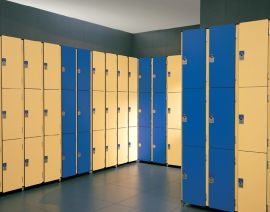 超市电子条码存包柜 定制安全便捷存包柜