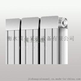 冀上銅鋁複合散熱器 工程用暖氣片暖氣片中心距600