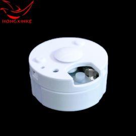 圆形录音盒 玩具音乐盒机芯配件 按键挤压录音盒