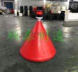 航道帶燈塑料浮標水面警示標誌報價