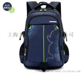 上海定制中小学生双肩包 男女简约休闲书包