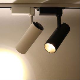 LED長筒軌道射燈,室內COB服裝照射LED軌道燈