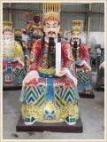 苍南五炁真君神像厂家,道教玻璃钢神像制造厂家