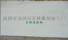 江苏波浪板定制公司前台形象墙装饰板雕纹板