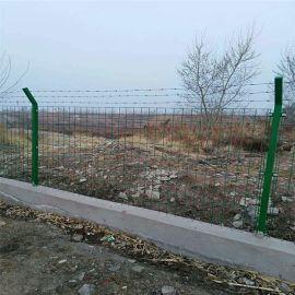 厂家直销圈地围栏网 高速公路护栏 浸塑钢丝围栏网