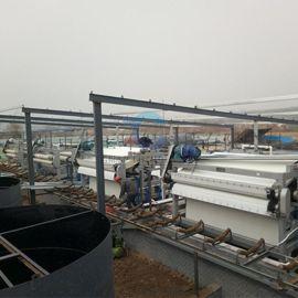 污泥带式压滤机生产厂家 山东泥浆脱水压滤机报价