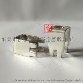 PCB-78螺母焊接端子接线柱攻牙铜支架厂家直销