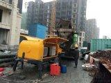 小型细石混凝土泵车的输送管和泵送系统应该这样清洗