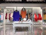 广州三荟品牌折扣女装霓姿丽尔羊绒大衣正品尾货货源