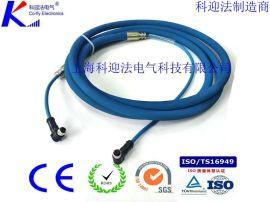 LCYVB矿用电连接器4芯5芯航空插头