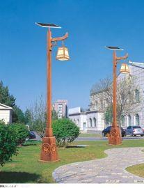 成都仿古太阳能灯杆木纹灯杆四川灯杆厂家
