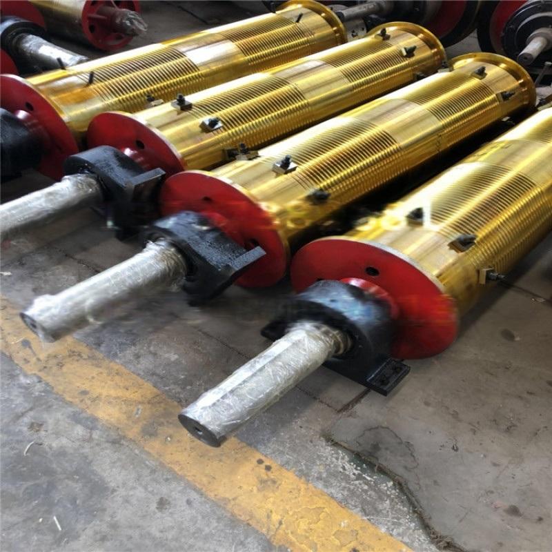 矿用绞车钢板卷筒 门吊天车起升卷筒组 左旋右旋